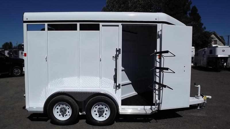 2016 Fabform Vision Galvanized Steel - Sealed Tack Wall - 2 Horse Trailer
