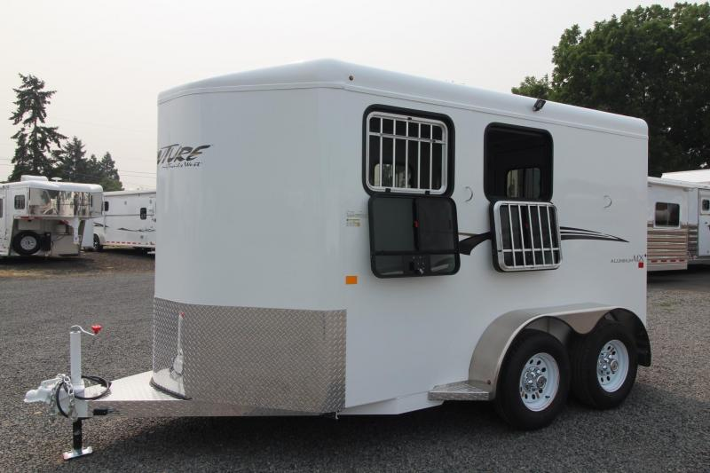 2019 Trails West Adventure MX II 2 Horse Trailer