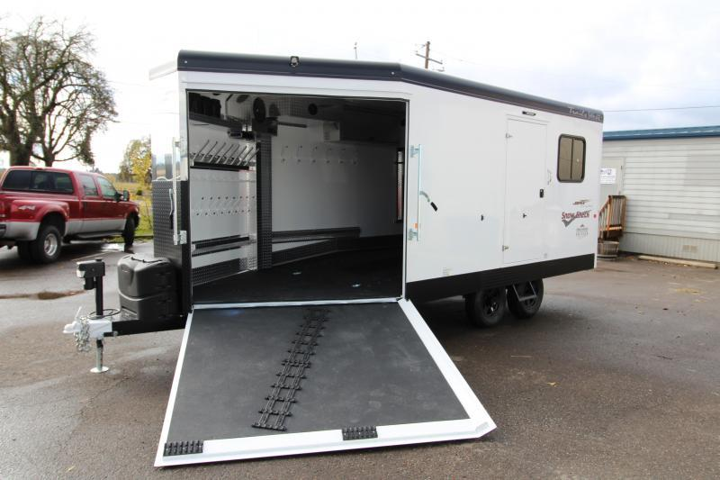 2018 Trails West RPM Burandt Backcountry Edition - Snow Check 20ft Snowmobile Trailer