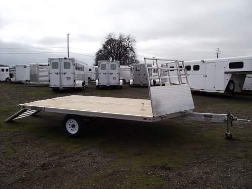 Deckover 2 place Snowmobile Trailer