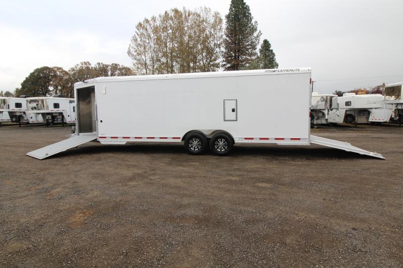 "2018 Featherlite 4926 - 24' Enclosed Car Trailer 8'6"" Wide 5200 axles"