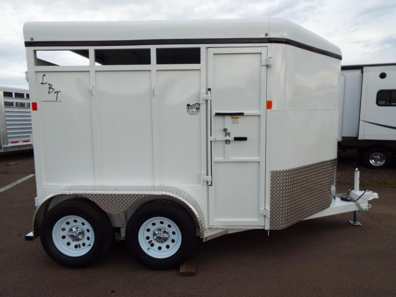 2016 Fabform Vision LBT - Galvanized Steel - w/ Swinging Tack Wall - 2 Horse Trailer - PRICE REDUCED