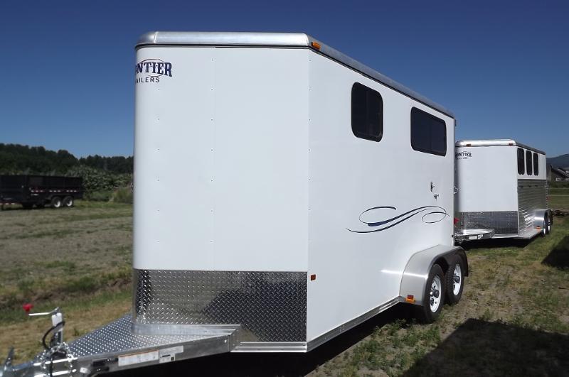 "Straight Load 2 Horse - Warmblood - All Aluminum - 7'6"" Tall -Huge ..."