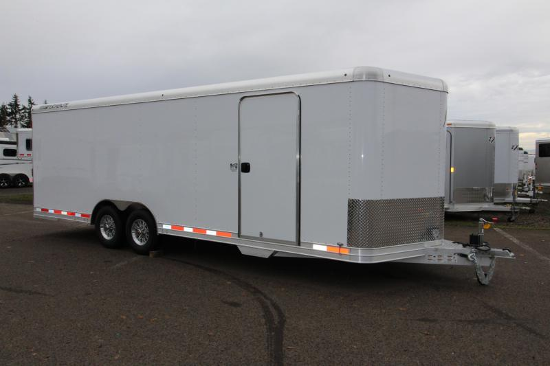 2018 Featherlite 4926 - 24' Enclosed Car Trailer- All Aluminum -