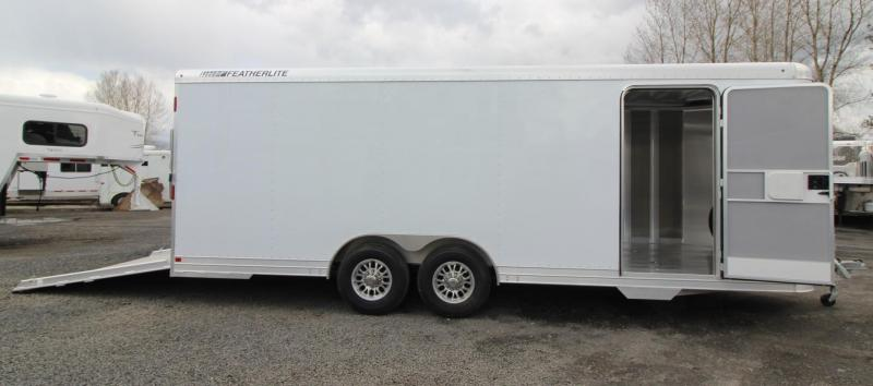 2019 Featherlite 4926 - 22ft All Aluminum Car Trailer