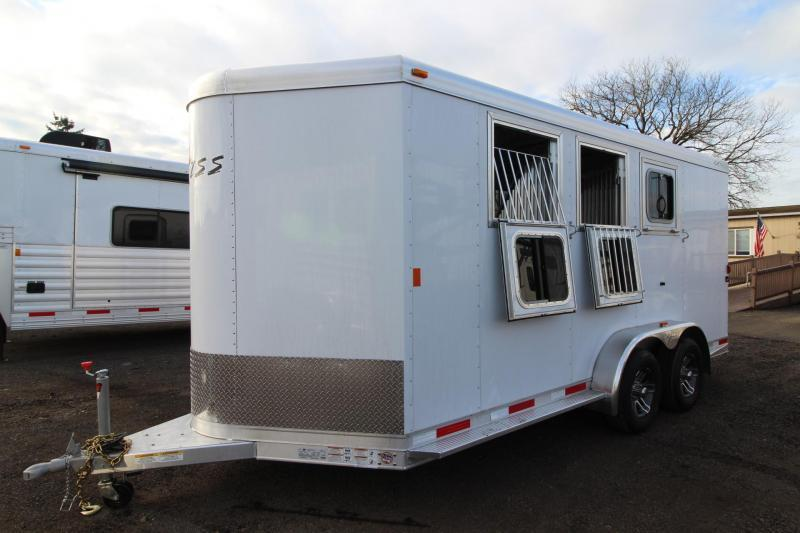 2018 Exiss 730 Horse Trailer - Swing out saddle rack - LARGE Tack Room - Polylast flooring PRICE REDUCED $1000
