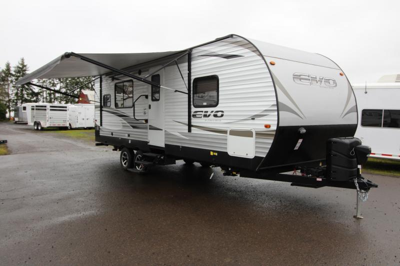 2018 Forest River EVO 2360 - Slide Out - Large Rear Kitchen - Solar Power - Arctic Package - Golden Ash Interior Color - PRICE REDUCED BY $1600
