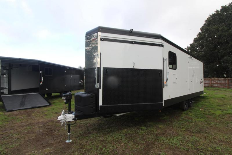 2019 Trails West RPM 28ft Burandt Edition Snowmobile Trailer