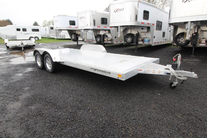 2019 Featherlite 3182-18'- Car/Racing Trailer-All Aluminum