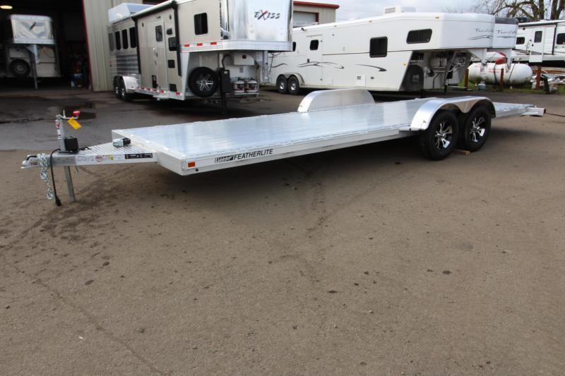 2019 Featherlite 3182 - 22 ft - All Aluminum - Car / Racing Trailer - With Ramps