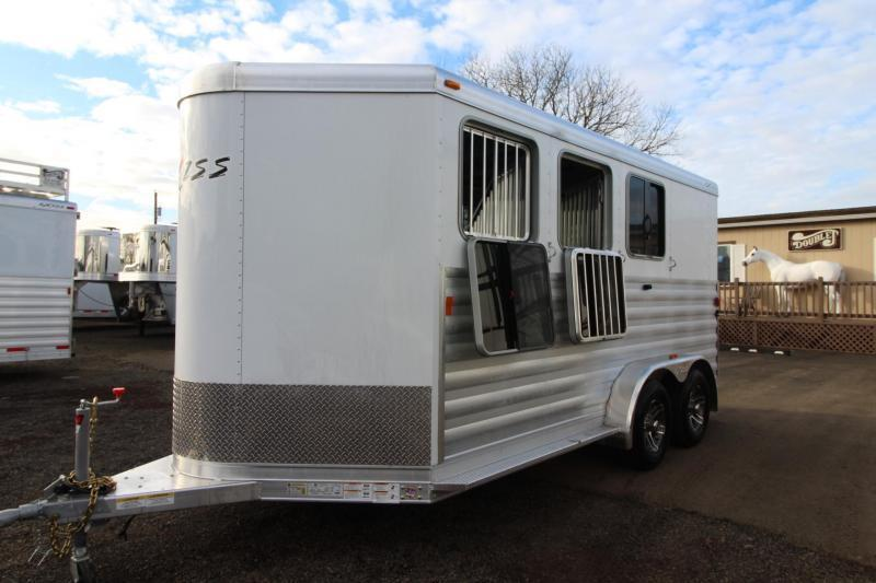 2018 Exiss Express 3 Horse Trailer - Polylast Flooring - Carpeted Tack Wall - Jail Bar Dividers- PRICE REDUCED!! $1825