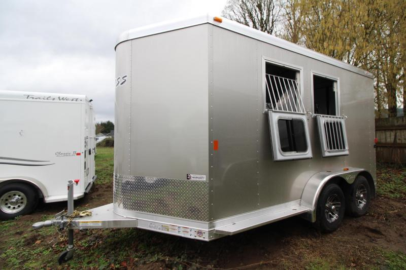 "2018 Exiss 720 - Polylast flooring - 7' 6"" Tall - 2 Horse Trailer - Large Tack Room! PRICE REDUCED $1095"