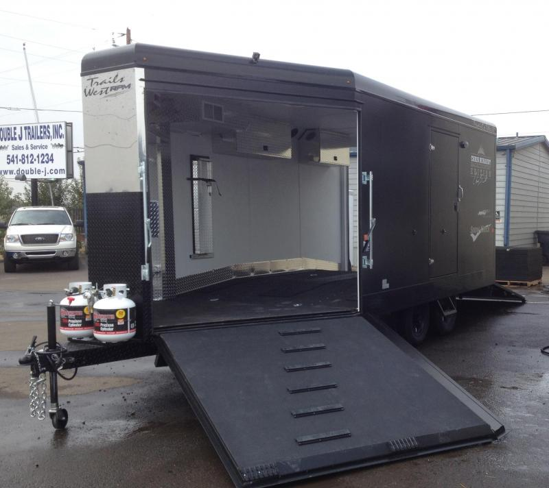 2015 Trails West RPM Enclosed Snowmobile Hauler - AVAILABLE ON ORDER!