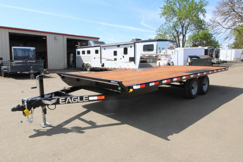 2019 Eagle Trailer 8.5x20 Deckover Trailer - With Ramps - 10K