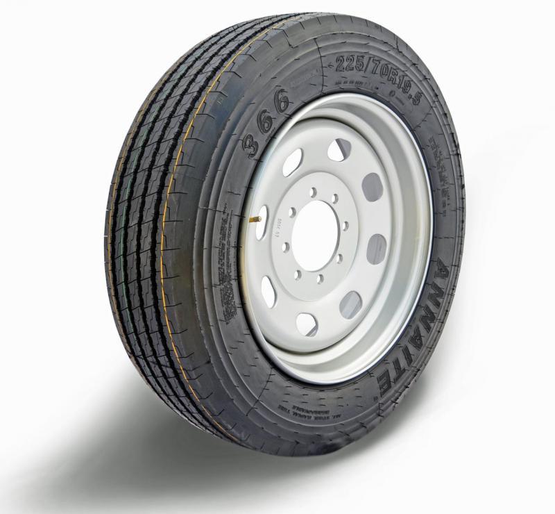 Boar Evron Wheel w/ ANNAITE 225/70R19.5 TIRE