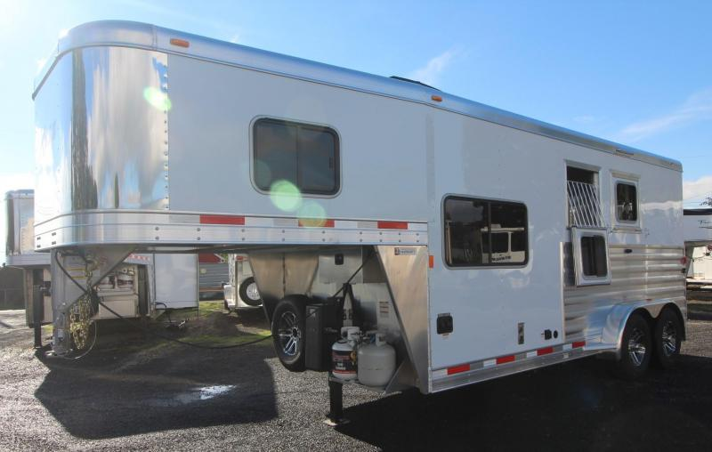 2019 Exiss Escape 7206 - 6ft short wall LQ - 2 Horse Trailer