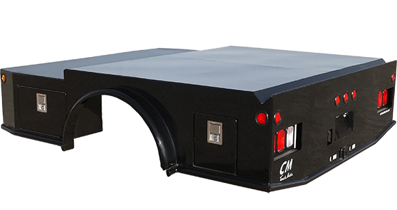 CM Truck Bed WD Model w/ Two Lockable Tool Boxes AVAILABLE ON ORDER