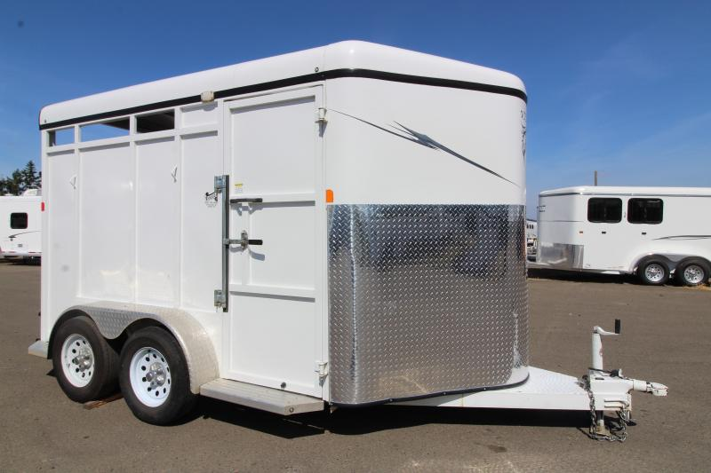 2016 Fabform Vision 2 Horse Slant Trailer -  Swinging Tack Wall - Swing Out Saddle Rack