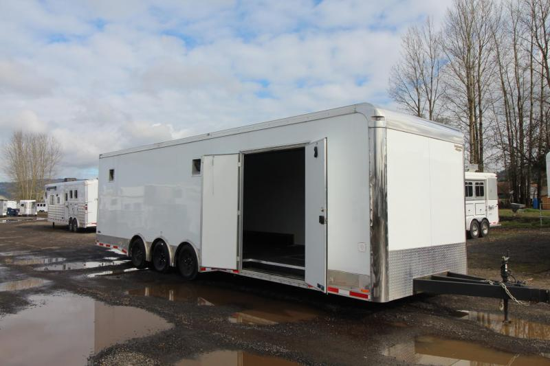 2017 Continental Cargo 30' Car Trailer - Triple Axle - All Alluminum
