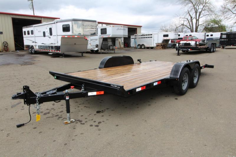2019 Eagle 7x16 Falcon Tiltdeck 7K Flatbed Trailer