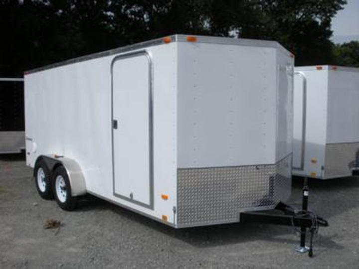 2019 Look Trailers EWLC7X16TE2 Flat Top Enclosed Cargo Trailer