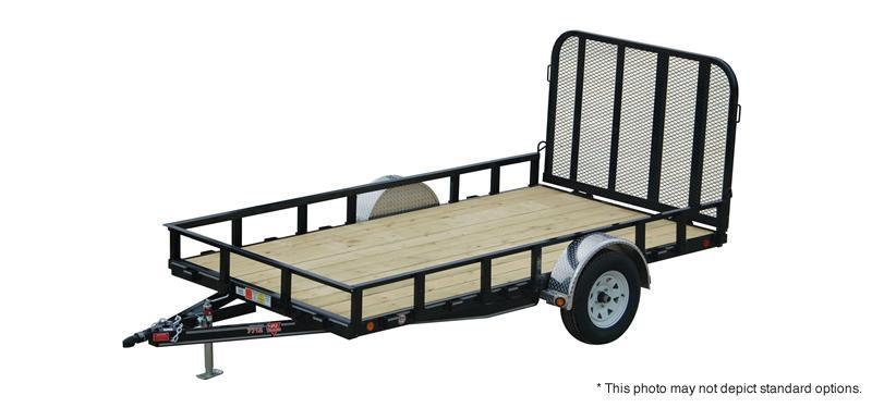 "2019 PJ Trailers 10'x77"" Single Axle Channel Utility Trailer"