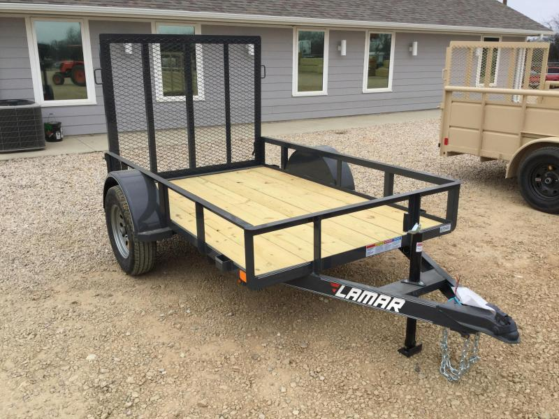 2019 Lamar Trailers 10 Single Axle Utility (UT) 3K Utility Trailer