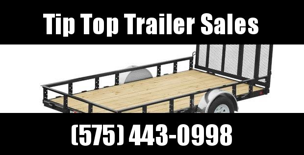 2019 PJ Trailers 77 in. Single Axle Channel Utility (U7) Utility Trailer