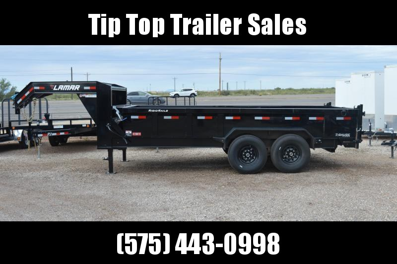 2020 Lamar Trailers Low-Pro Dump (DL) 14K - 21K Dump Trailer