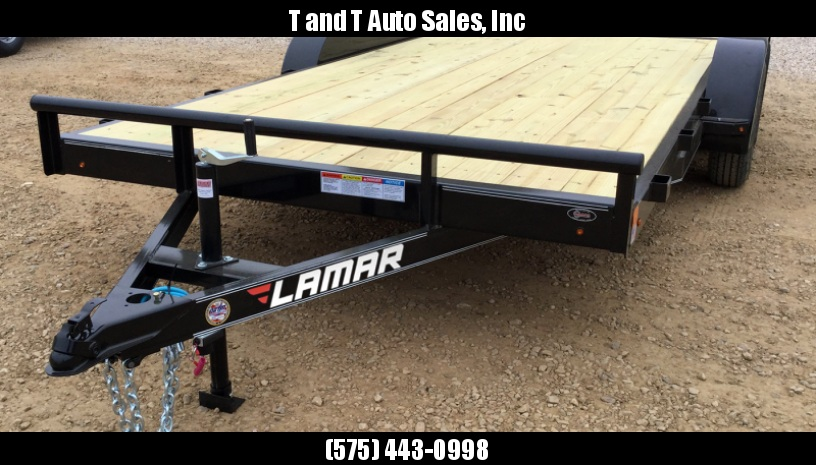 2017 Lamar Trailers CE182 Car / Racing Trailer