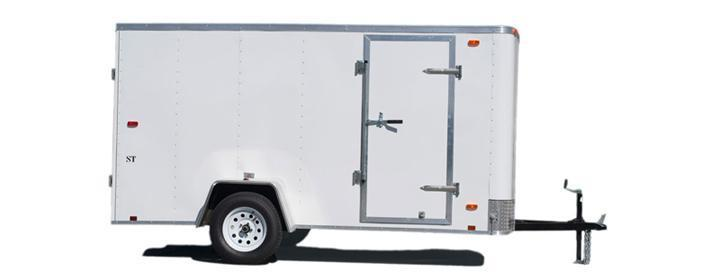 2020 Look Trailers 6'X10' Enclosed Cargo Trailer