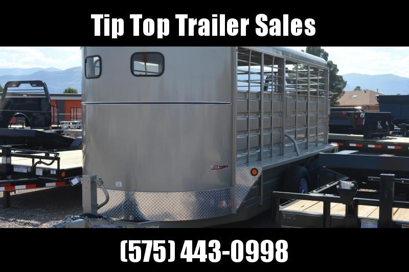 2019 GR Trailers BFST6816W14LR Livestock Trailer