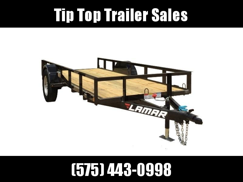 2020 Lamar Trailers Single Axle Utility (UT) 5'X10