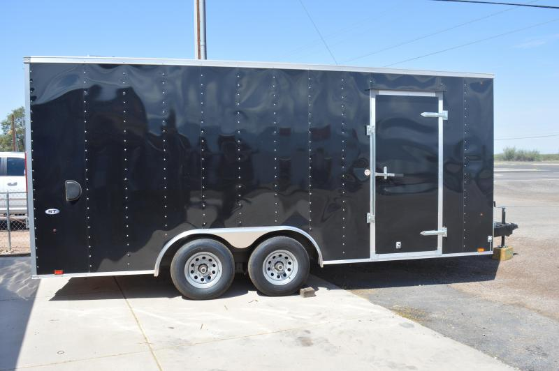 2018 Look Trailers STLC 8.5X18TE2 DLX Enclosed Cargo Trailer