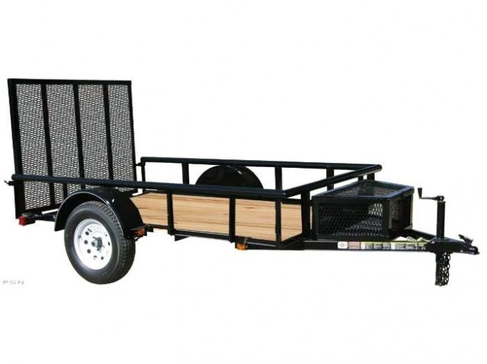 2018 Carry-On 5.5x10GWPR - 2990 lbs. GVWR Wood Floor Trailer Utility Trailer