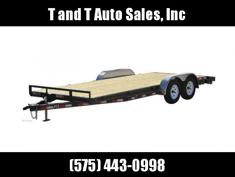 2018 PJ Trailers 5 in. Channel Carhauler (C5) Trailer