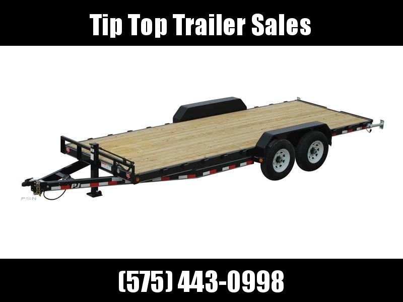 2020 PJ Trailers 20' 6 in. Channel Equipment (CC) Car / Racing Trailer