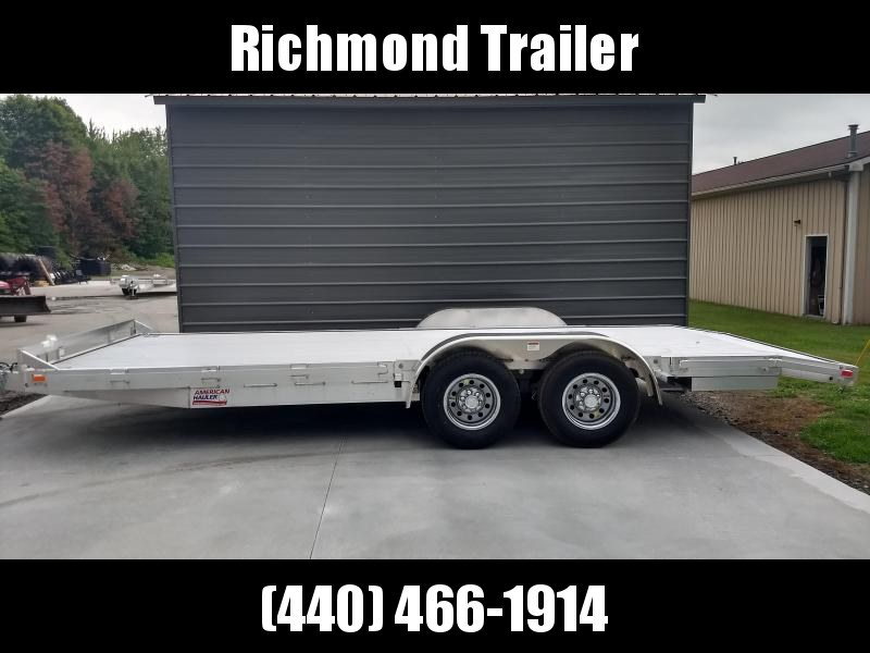 2018 American Hauler Industries 8x16 Open Car / Racing Trailer