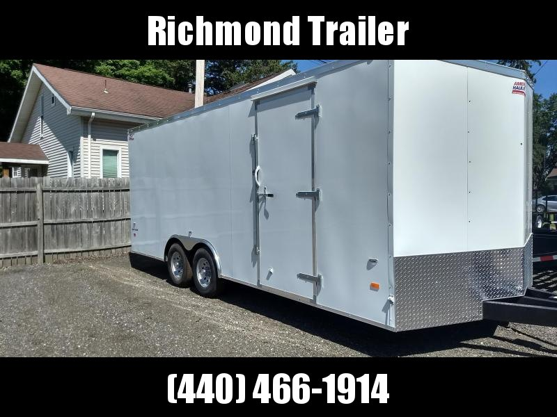 2018 American Hauler Industries 8.5x20 Enclosed Cargo Trailer