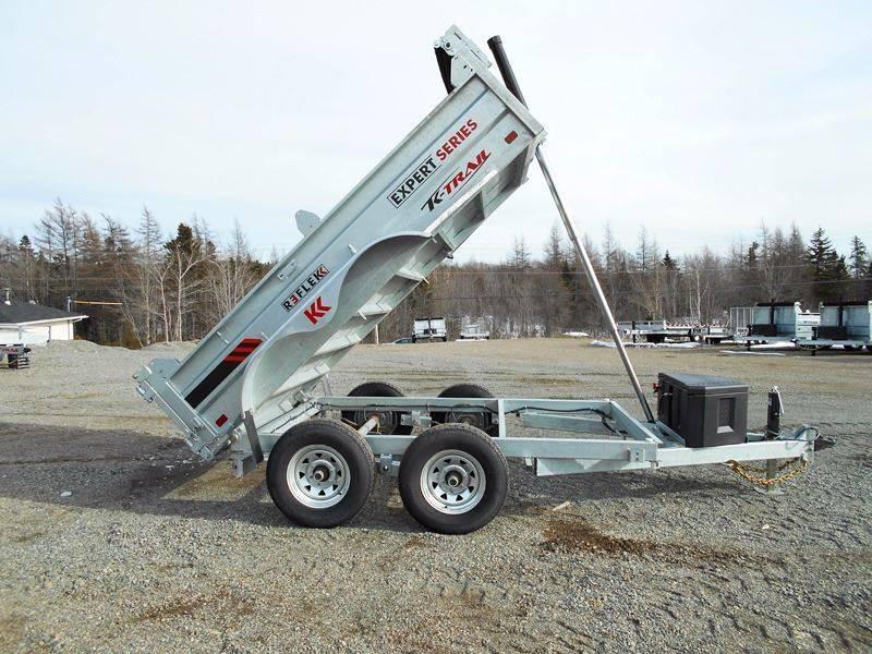 2017 K Trail 6 x 10 - 10000 LB Dump Galvanized