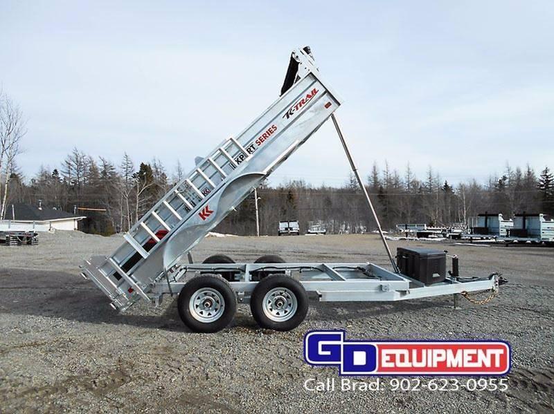 2018 K Trail 6 x 12 Dump - 10000 LB Galvanized