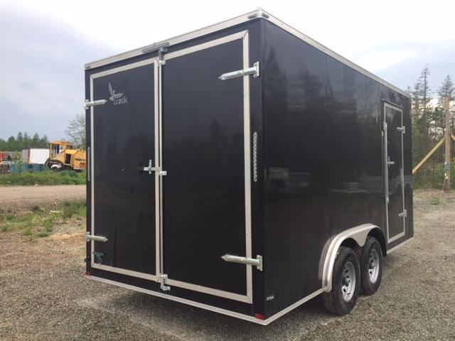 2017 Lark 8 x 16 10400 LB Enclosed Cargo Trailer