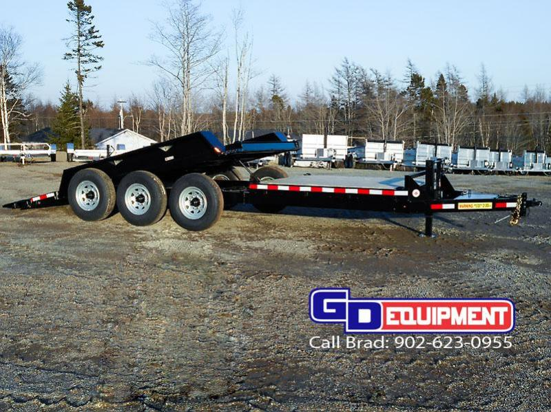 2018 LWL 21K Industrial Tilt Equipment Trailer 22