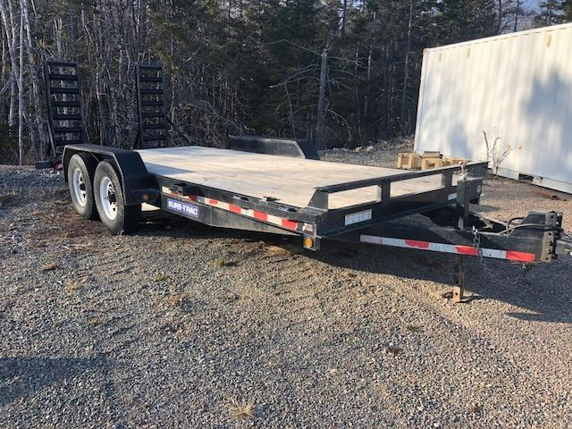 2014 Sure-Trac 18 ft equipment hauler 14000 lb