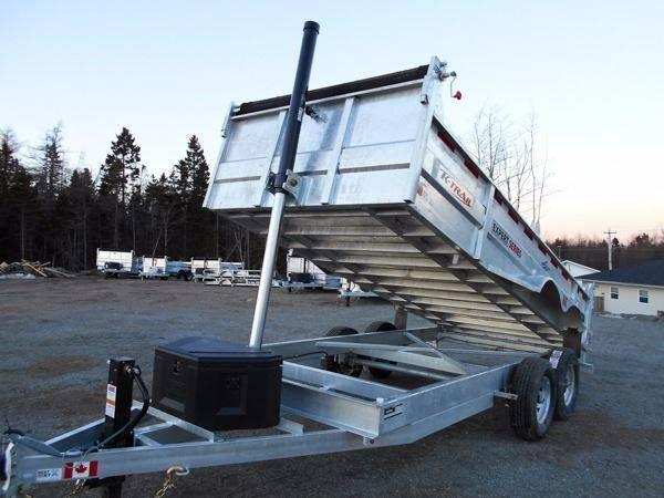 2018 K Trail 80 x 16 Dump - 14000 LB Galvanized