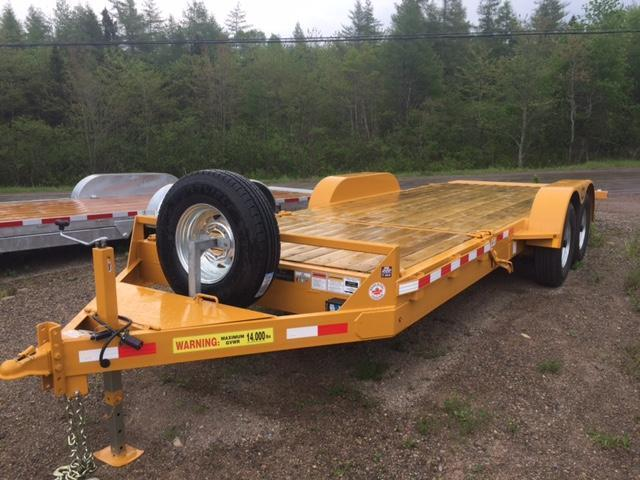 2017 LWL 20ft Tilt Deck Equipment Trailer  14K