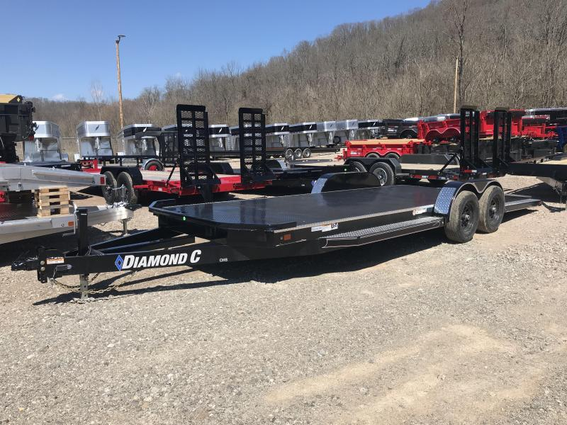"2019 Diamond C 82""x22'  - OPEN Car Hauler K1212471"