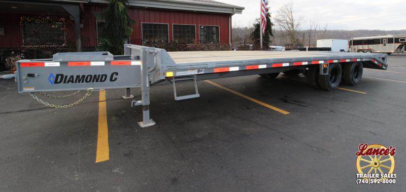"2019 Diamond C PX210 102""x25' Equipment Trailer"