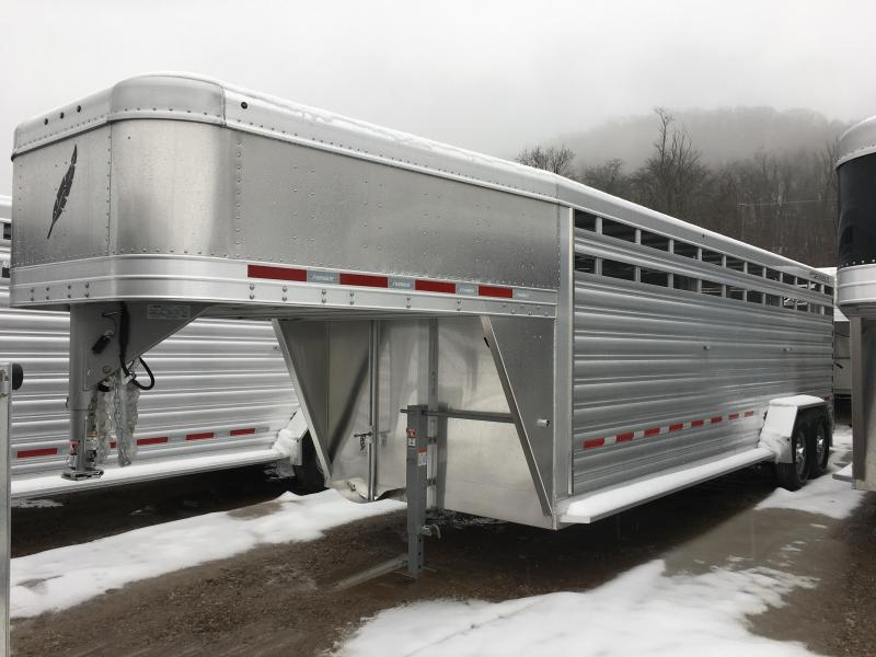 2019 Featherlite 8117 24' Livestock Trailer KC151211