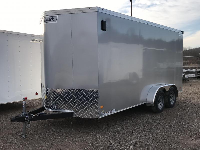2019 Haulmark Transport 7'x16' Tandem Axle Cargo Trailer KH000688